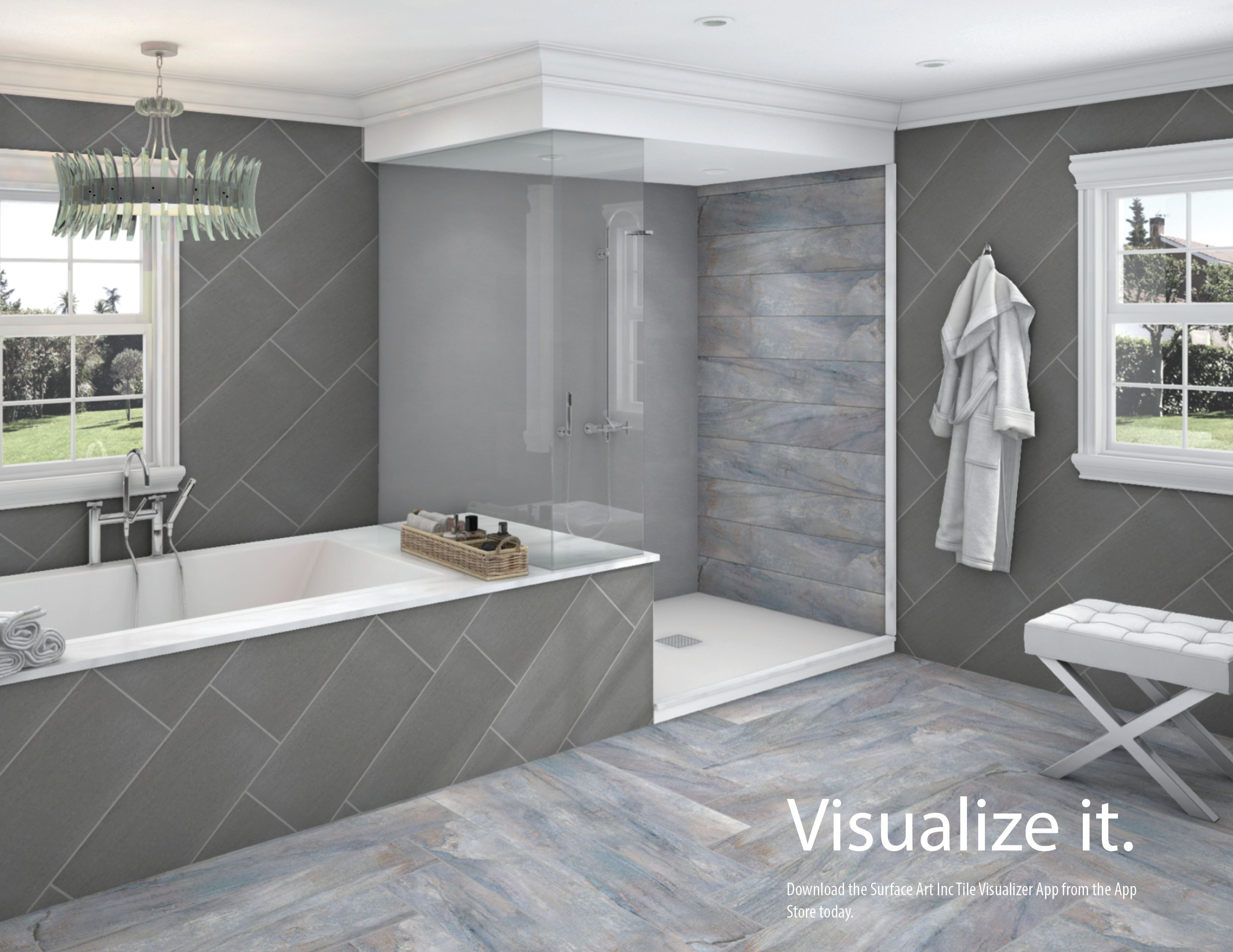 Fantastic With Our New Tile Visualizer You Can Design From The Bottom Download Free Architecture Designs Scobabritishbridgeorg