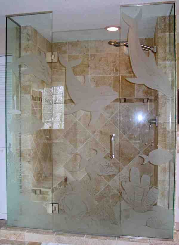 Etched Glass Shower Doors Glass Shower Glass Shower Doors Glass Shower Doors Decor