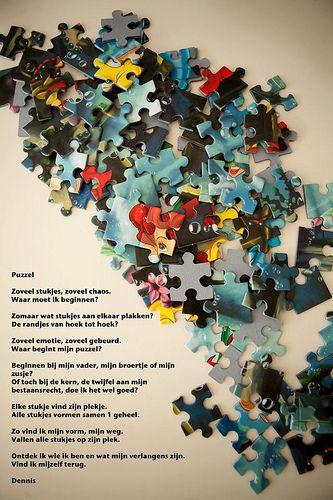 Gedicht Puzzel Van Het Leven Google Zoeken Leuke Citaten