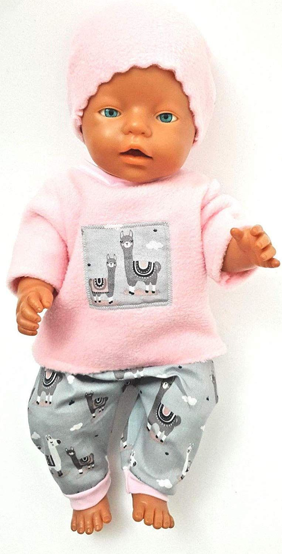 Puppenkleidung 43 Cm Passend Fur Zb Baby Born Bekleidung Kleidung Lama Amazon De Handmade Puppenkleidung Puppen Kleidung Nahen Puppenkleider Nahen