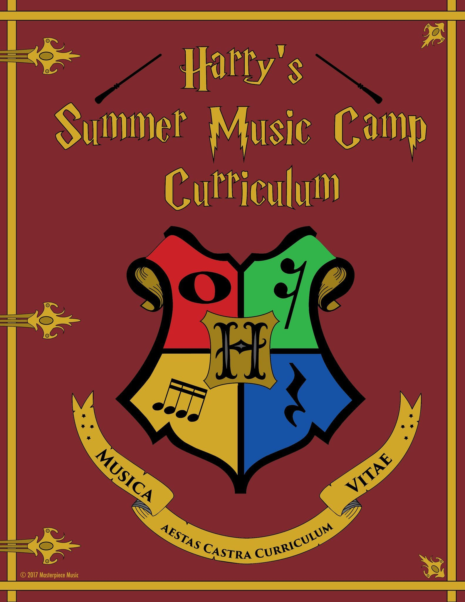 Harry S Music Camp Curriculum With Dice