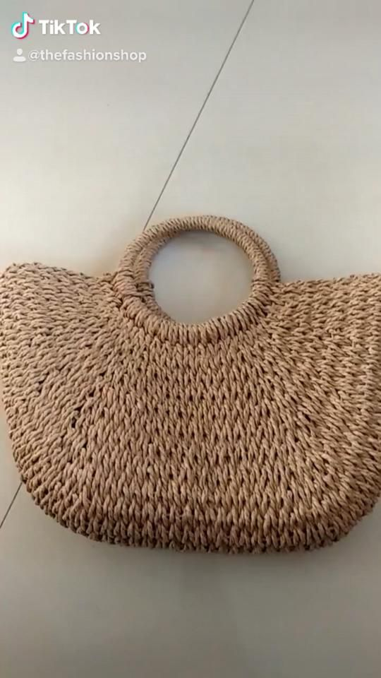 Summer Handmade Bags for Women Beach Weaving Ladie