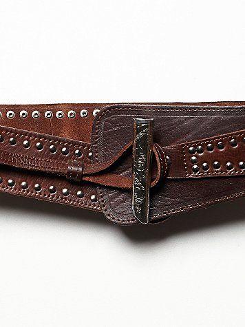 Runaway Leather Belt