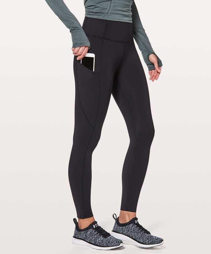 f65a8f1510f86 Lululemon Fast   Free 7 8 Tight II  Non-Reflective Nulux 25 ...