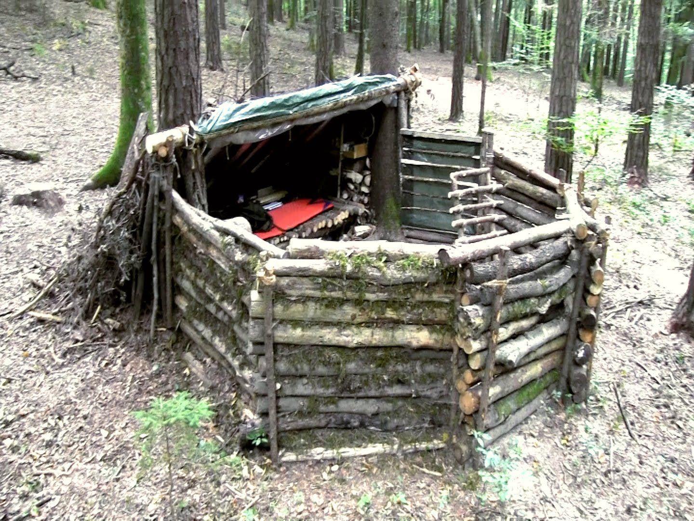 #5B7A51 Mest effektive 17 Basic Wilderness Survival Skills Everyone Should Know Udeliv Udendørs O  Gør Det Selv Shelter 6035 144010806035