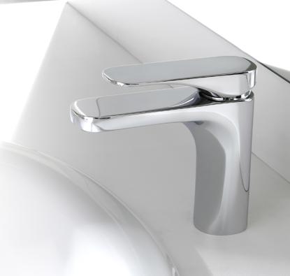 carlo frattini quad f3721 waschtischbatterie n 2. Black Bedroom Furniture Sets. Home Design Ideas