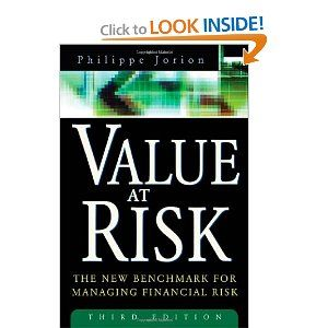 Amazon Com Value At Risk The New Benchmark For Managing Financial Risk 3rd Edition 9780071464956 Philippe Jorion Financial Benchmark Financial Management