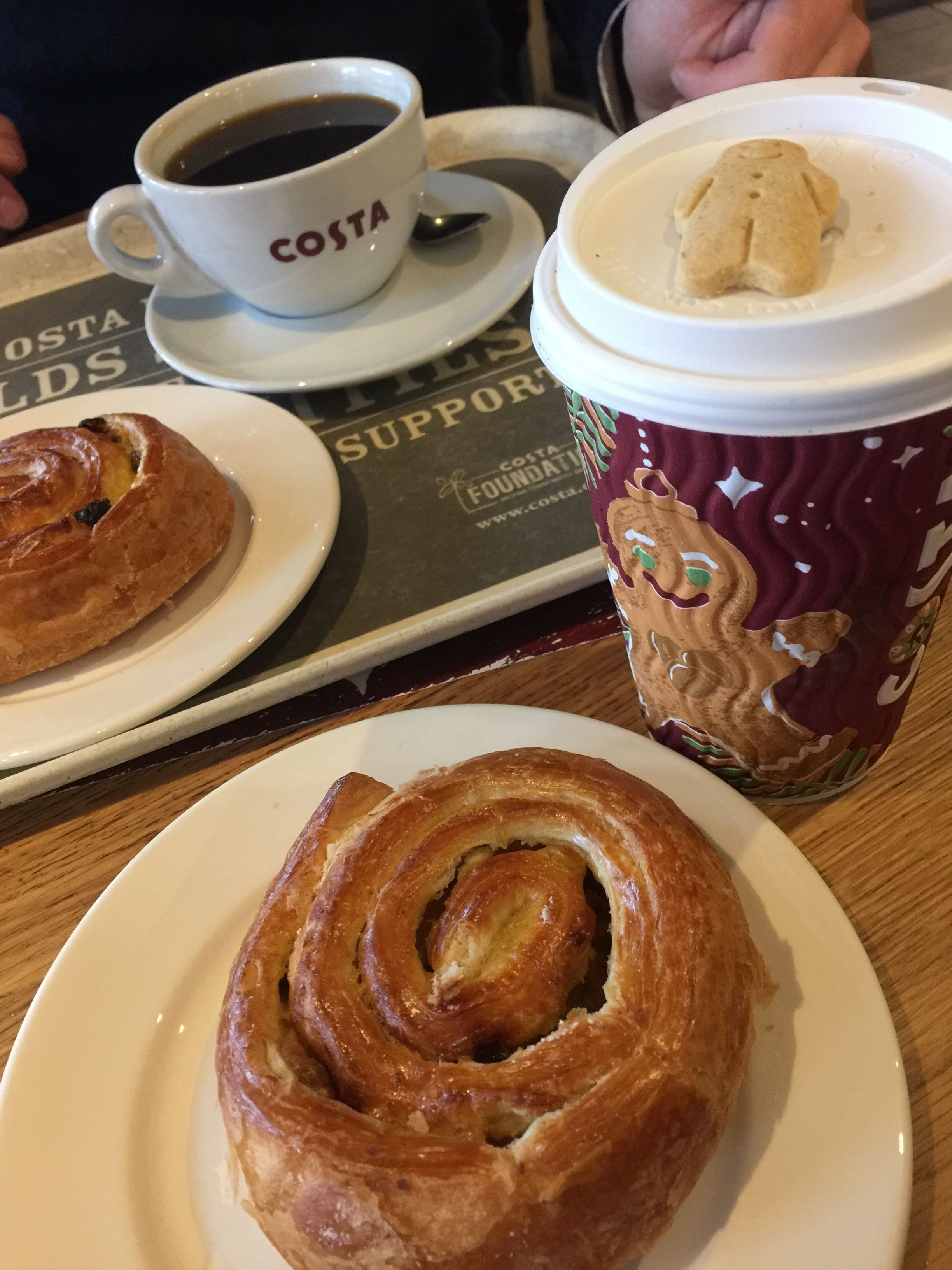 Costa Coffee We Discovered For The First Time In Scotland So Good Coffee Was The Best I Ve Ever Had Costa Coffee Great Coffee Food