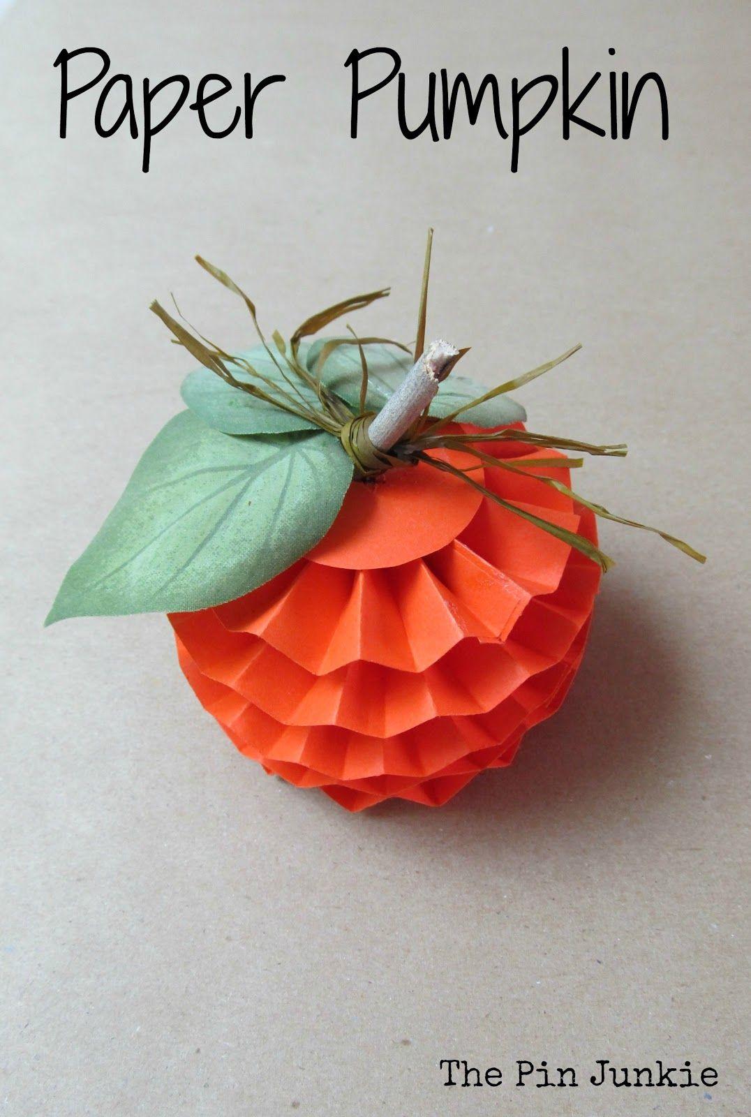 14+ Paper pumpkin craft ideas info