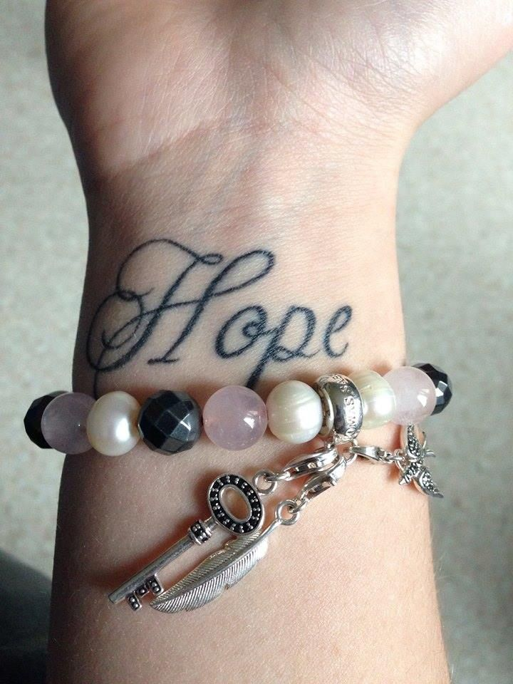 52 Lovely Hope Wrist Tattoos Tattoos Pinterest Wrist Tattoos