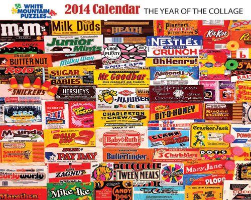 2014 Collage Calendar-White Mountain Puzzles