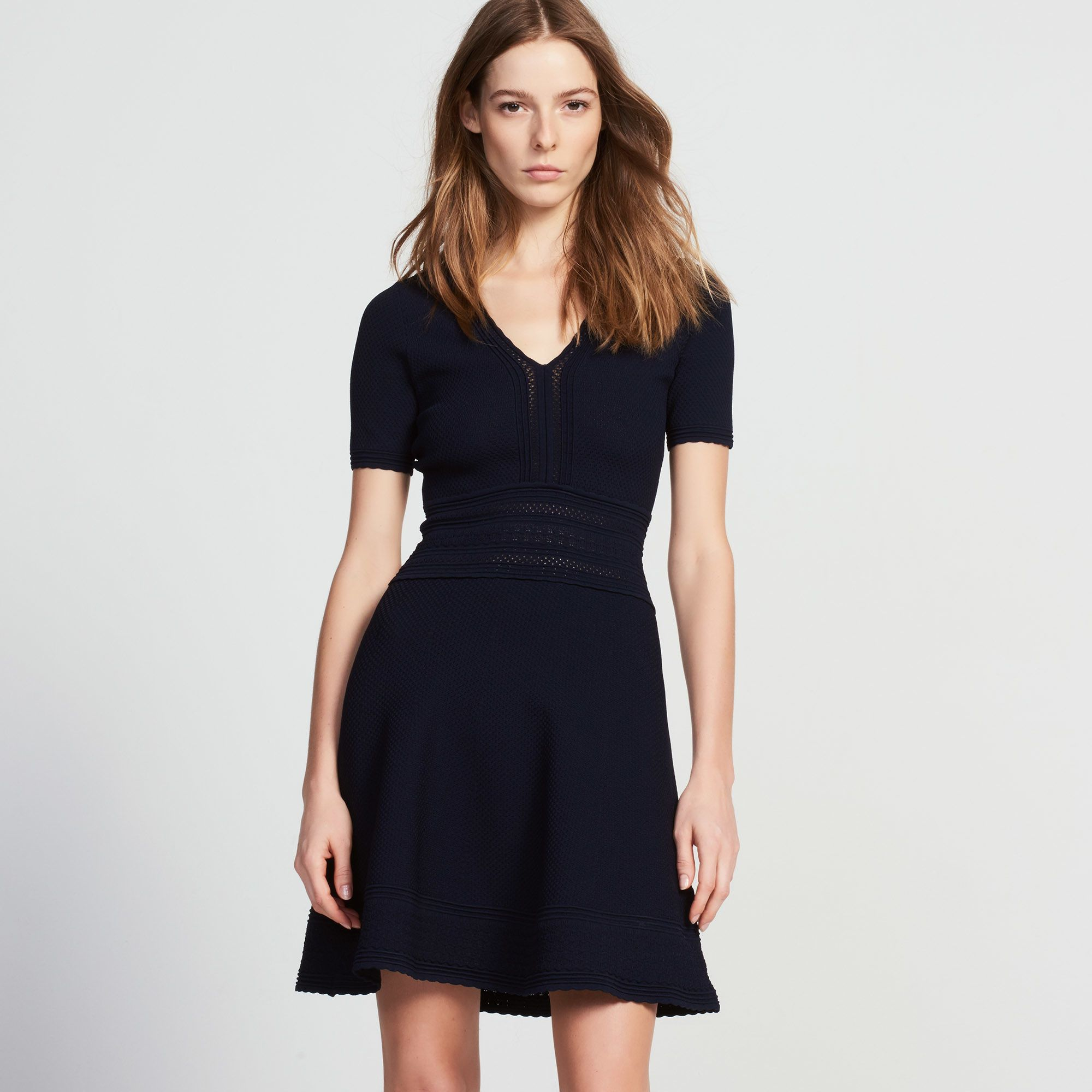Sandro Knit Dress Sale