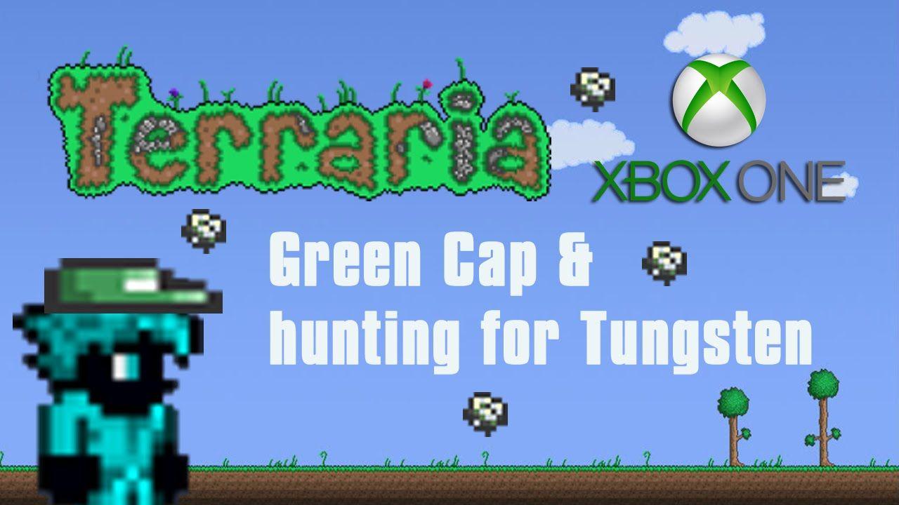 Terraria Xbox One Green Cap Red S Cap Hunting For Tungsten 4 Xbox One Xbox Terrarium