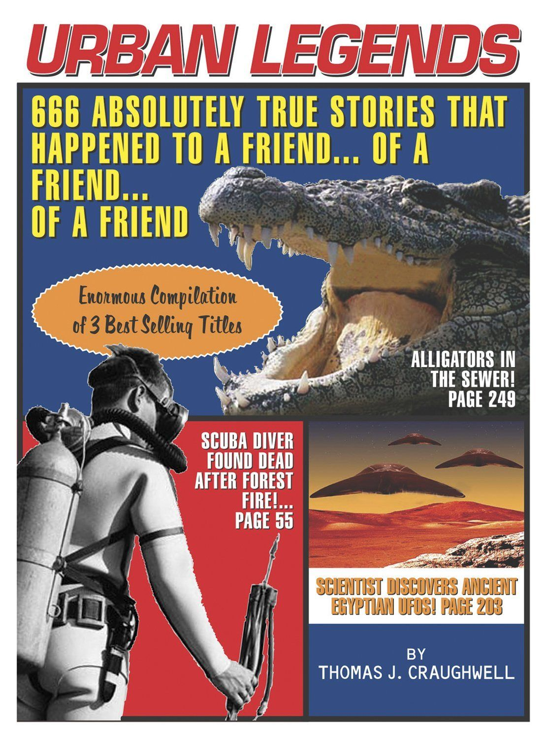 Urban Legends 666 Absolutely True Stories That Happened to a Friend of a Friend of a Friend ($9.39)