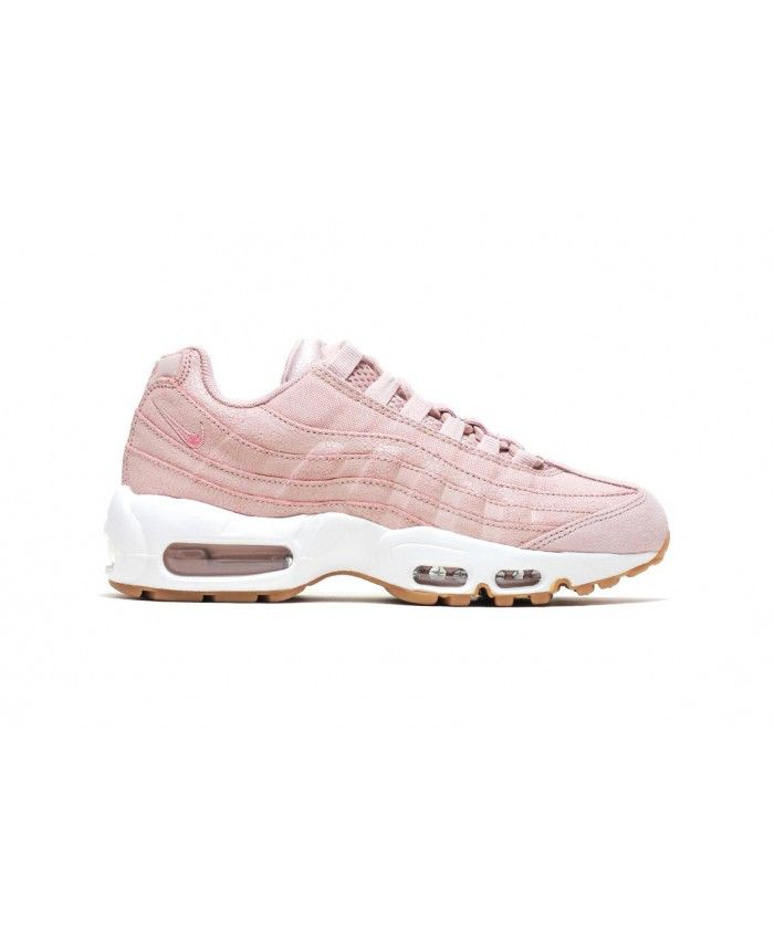100% high quality lower price with no sale tax Nike Air Max 95 Premium Baby Pink Trainer | Air max 95 pink ...
