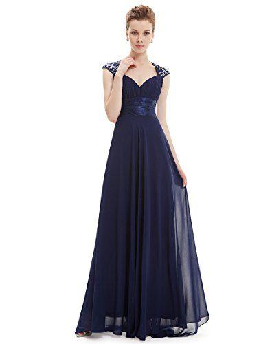 robes femme longue bleu marine de soiree tenue de mariage. Black Bedroom Furniture Sets. Home Design Ideas