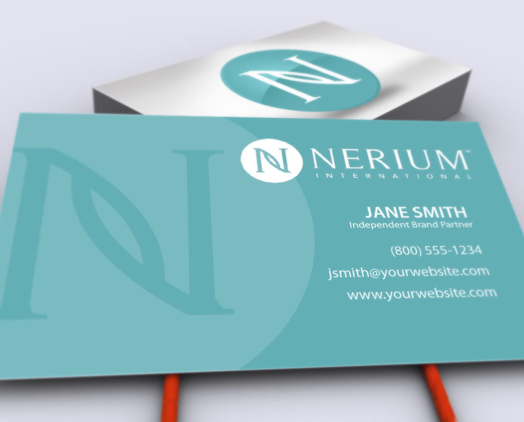 New Business Cards For Nerium Brand Partners Mlm Nerium Print Paper Graphicdesign Businesscar Free Business Cards Printing Business Cards Self Branding
