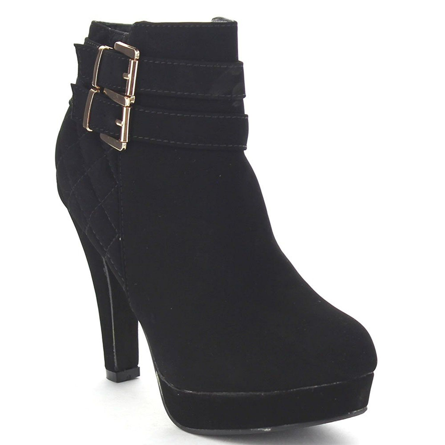 Women's Quilted Ankle Bootie