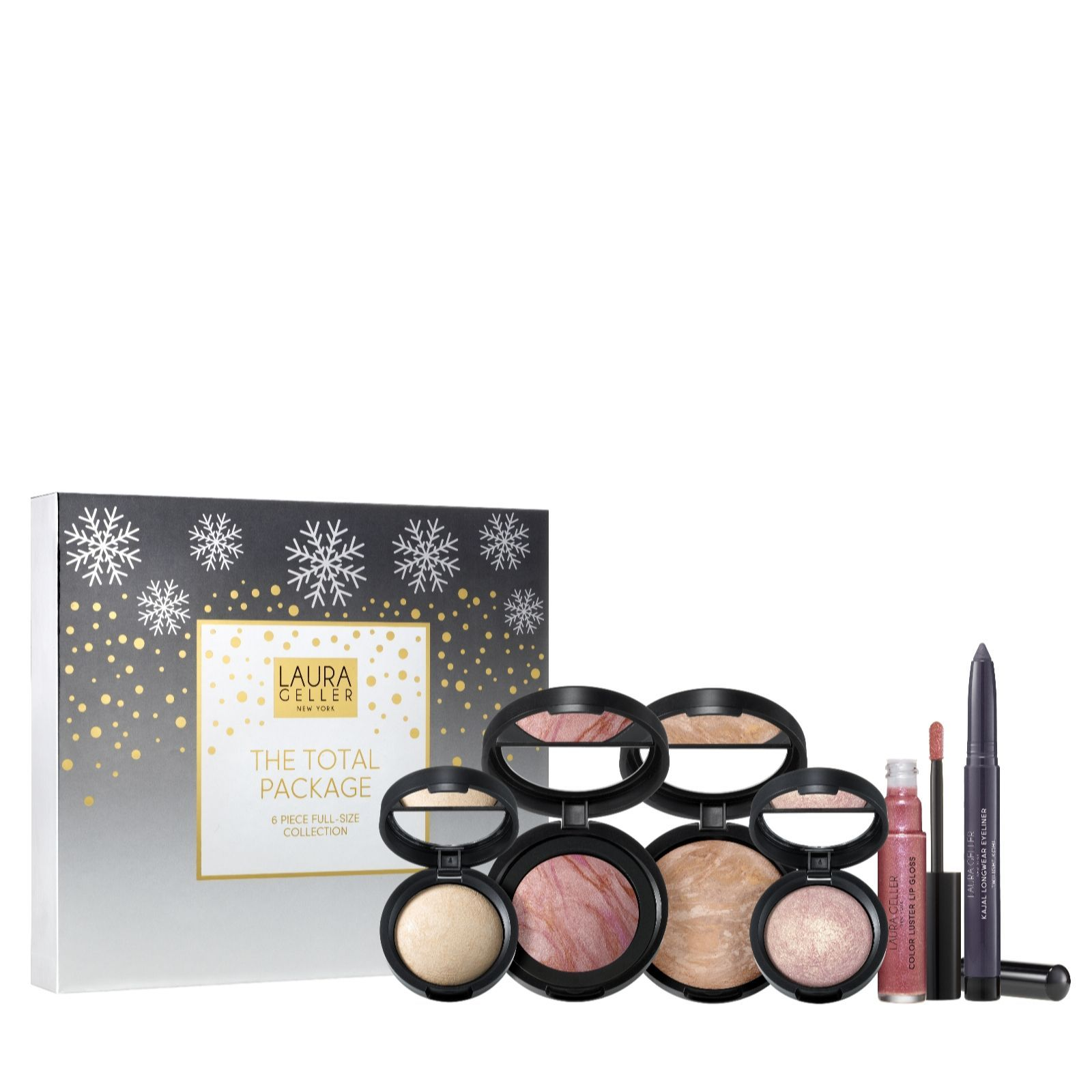Laura Geller 6 Piece Holiday Make Up Collection Qvc Uk Laura