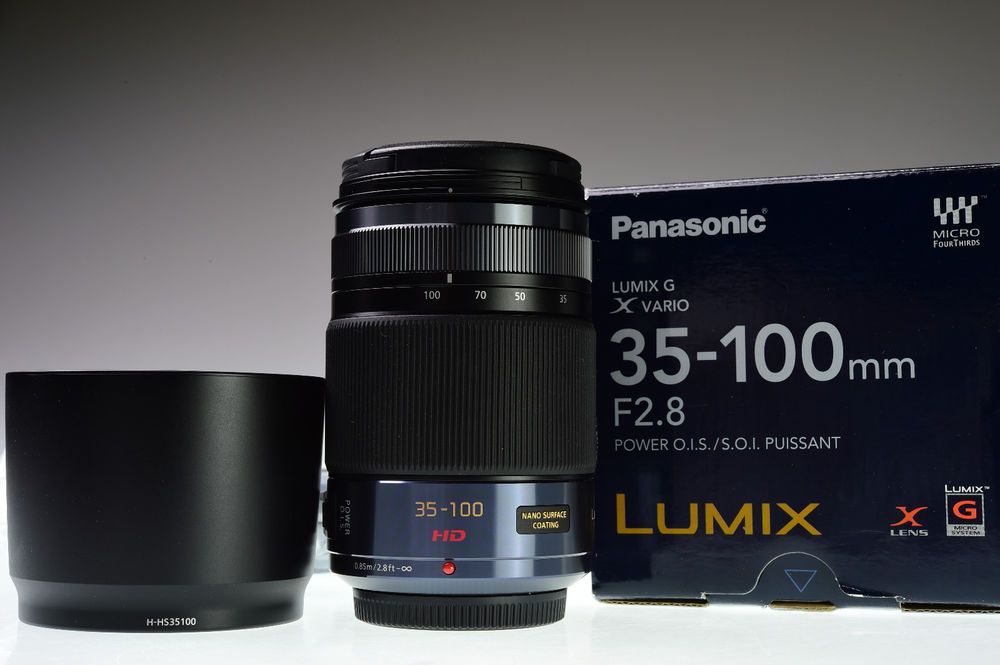 Mint Panasonic Lumix G X Vario 35 100mm F2 8 Power O I S Aspherical Panasonic Panasonic Lumix Panasonic Lens