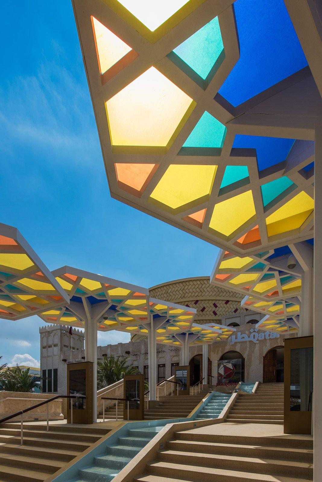 World expo 2015 milan pavilion qatar expo 2015 for Expo arredo