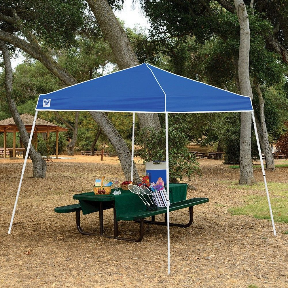 Z Shade 10 X 10 Horizon Angled Leg Shade Canopy Tent Shelter With Side Walls Canopy Tent