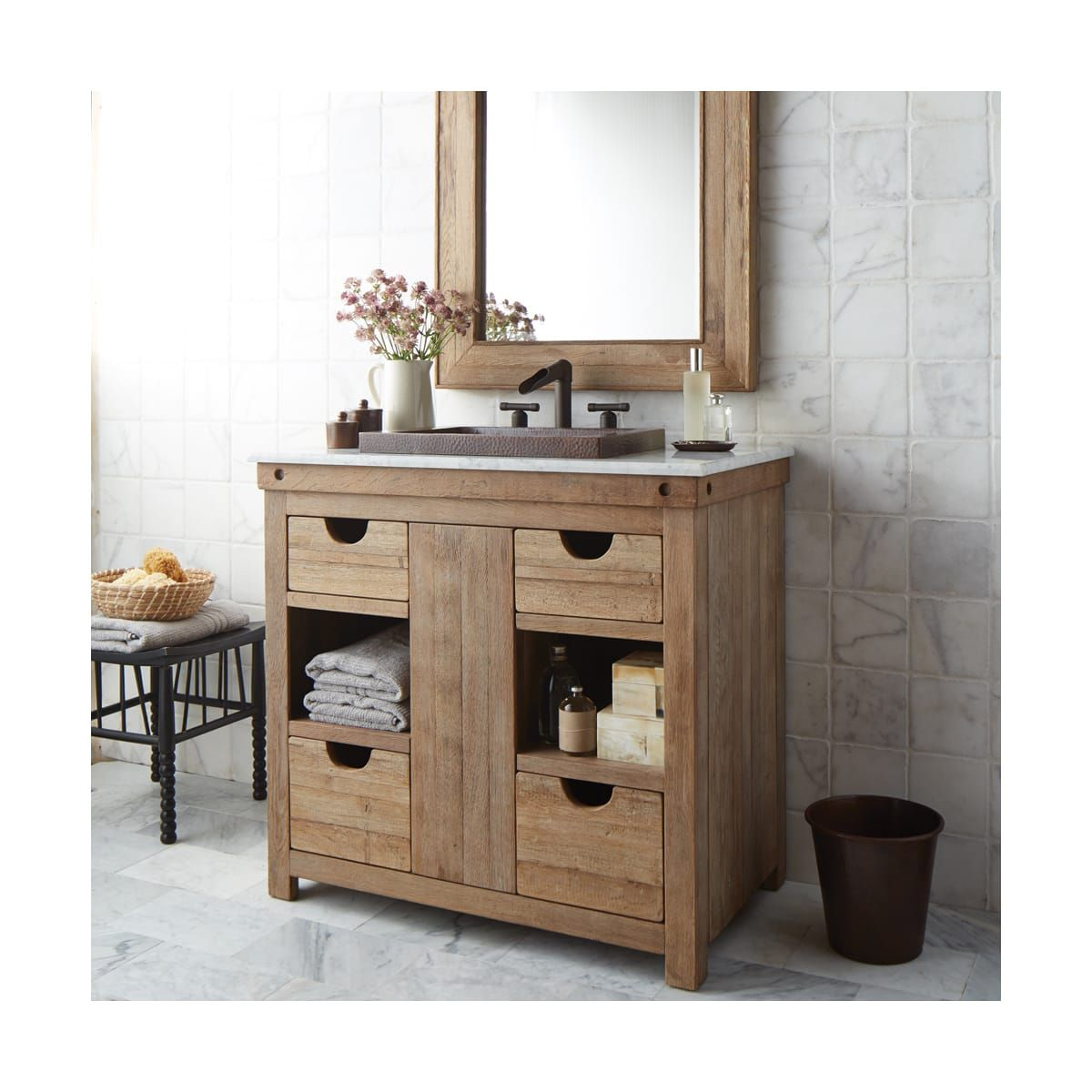 Native Trails Vnw36 Build Com In 2020 Wooden Bathroom Vanity Bathroom Vanity Base Wood Bathroom Vanity