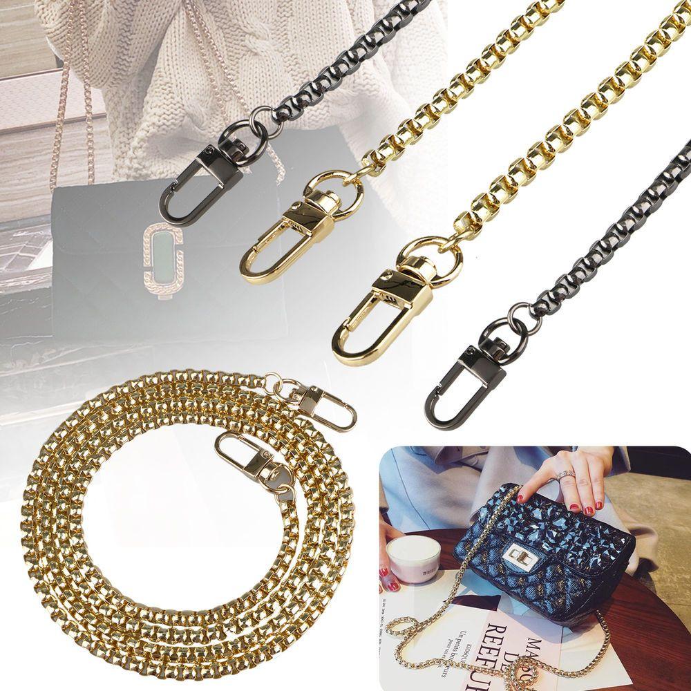 120cm Replacement Chain Strap Purse Handbag Handle Shoulder Bag Crossbody