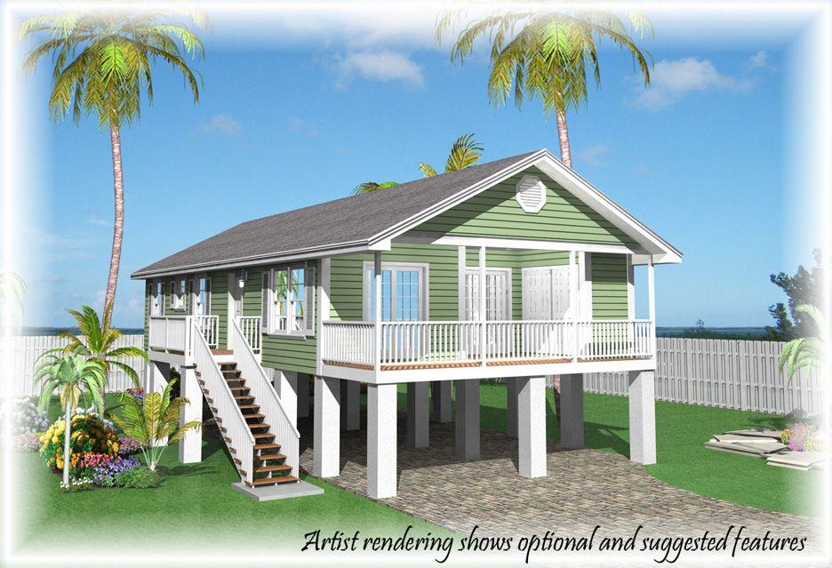 Tiny House On Stilts Plans