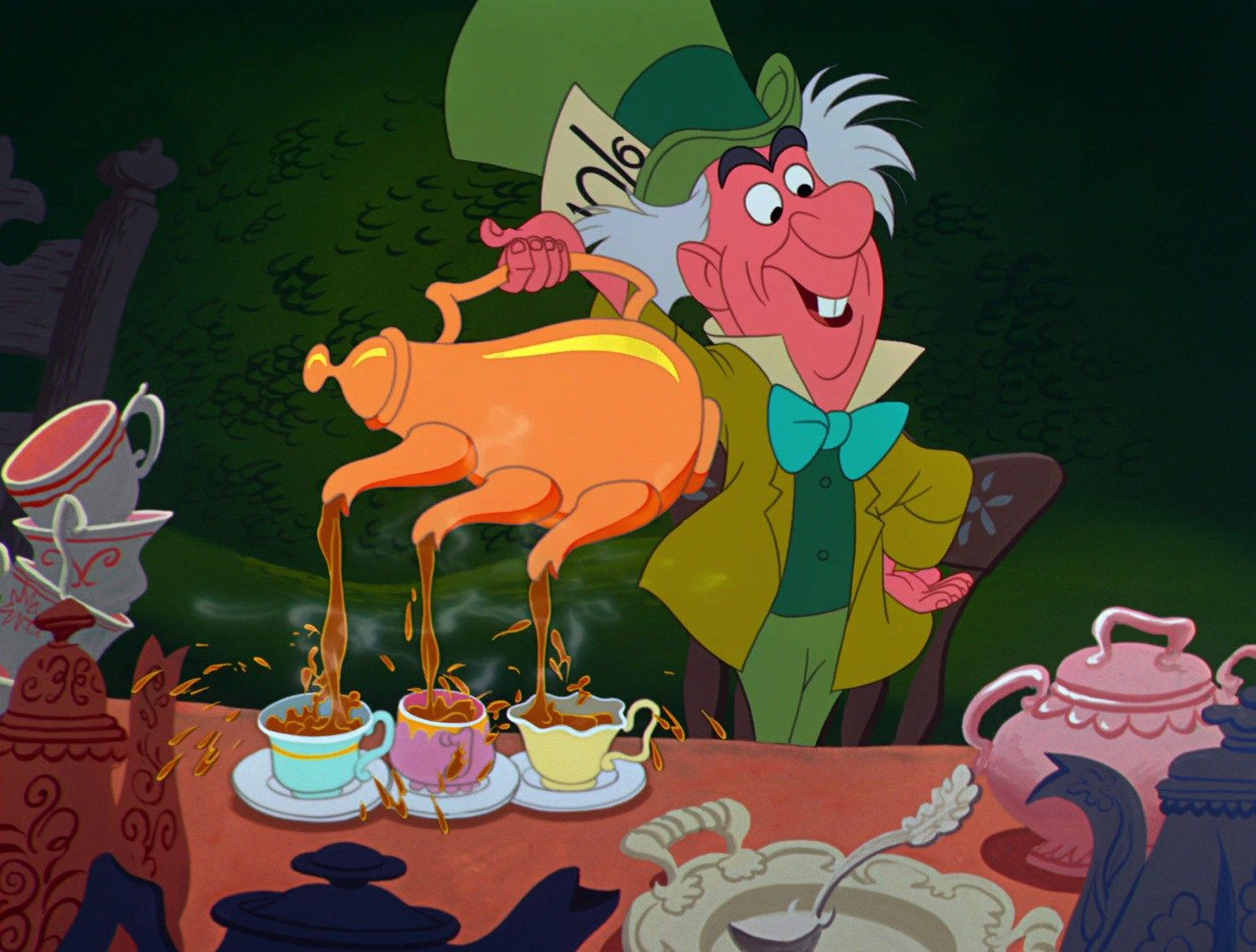 Alice In Wonderland 1951 Mad Hatter Mad Tea Party With Images