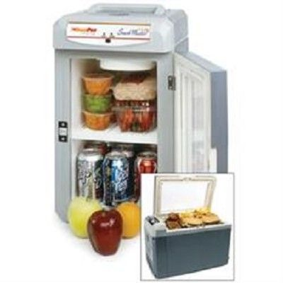12 Volt Snackmaster Deluxe Cooler And Warmer The 12 Volt Snack Master From Das Distributors Will Keep Your Food And Cooler Camping Coolers Truck Organization