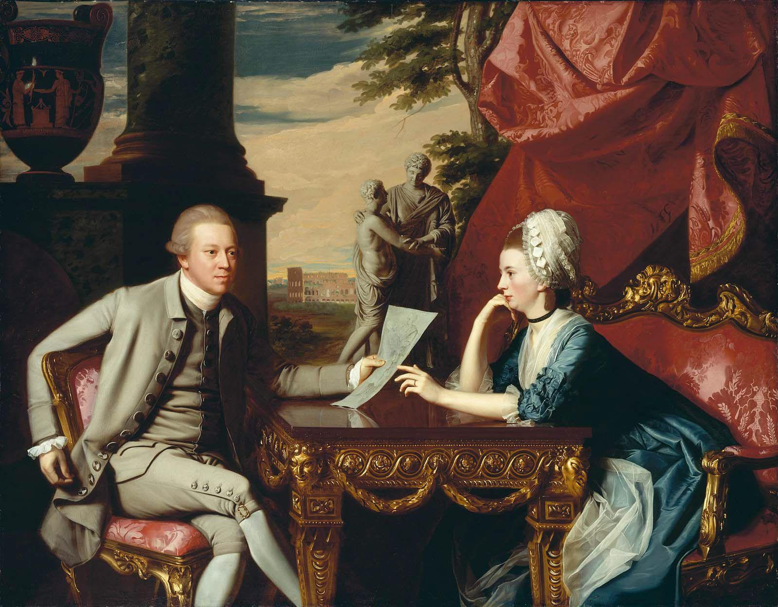 Mr And Mrs Ralph Izard Alice Delancey 1775 John Singleton