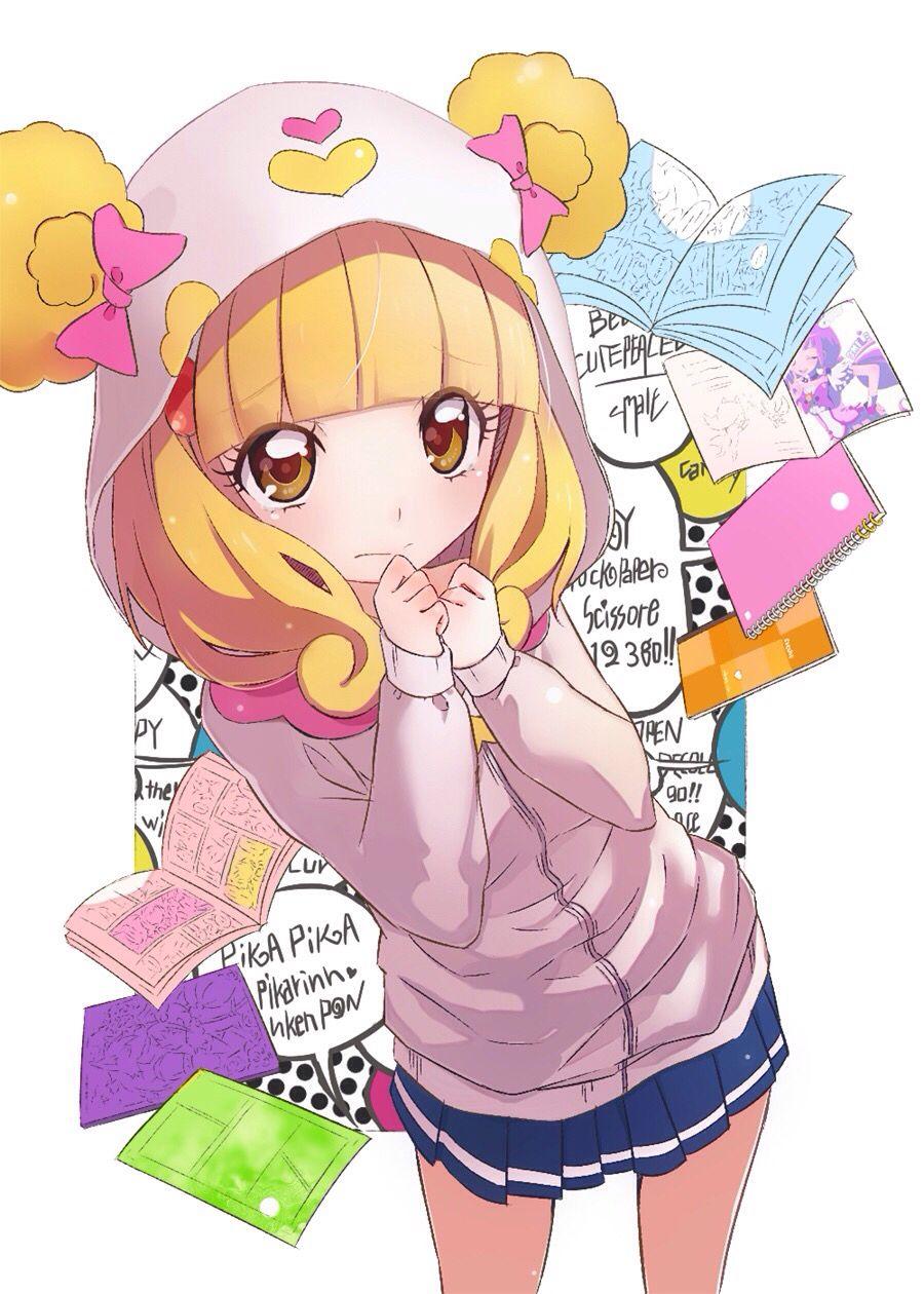 Anime, girl,Kawaii,yellow hair, >\\\