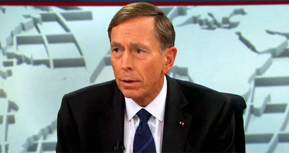 General Petraeus – If We're Not Winning Against ISIS We're Losing – Still Can Turn It Around