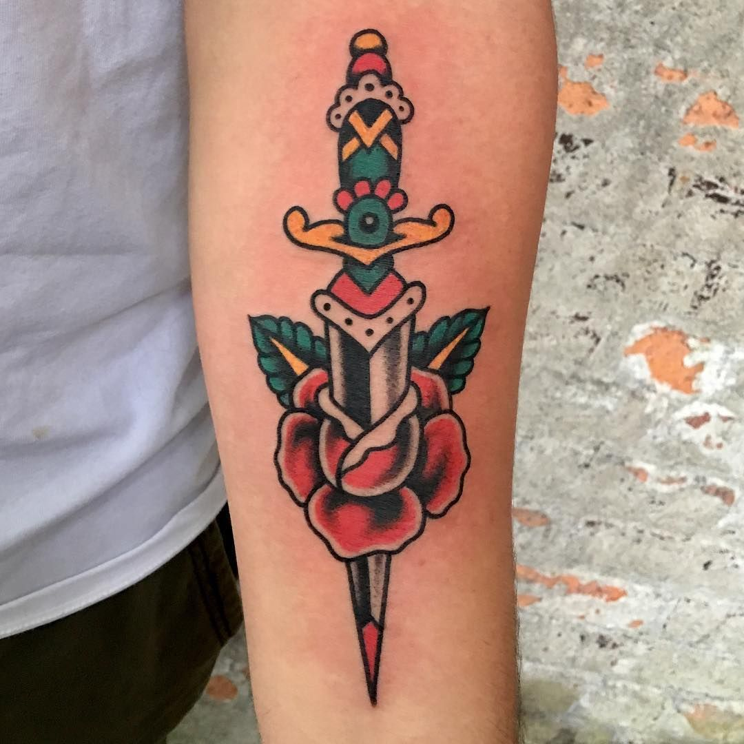 Tatuaje Americano Tradicional eli_quinters | tatueringar | pinterest | tatuajes