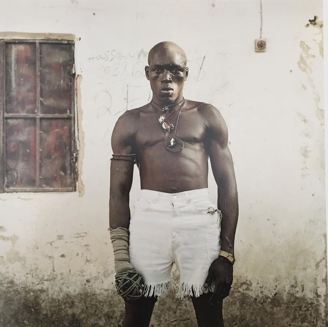 Abe Odedina (@abeodedina) op Instagram: 'DAMBE FIGHTER. Kano 2005 Photograph by Pieter Hugo.'