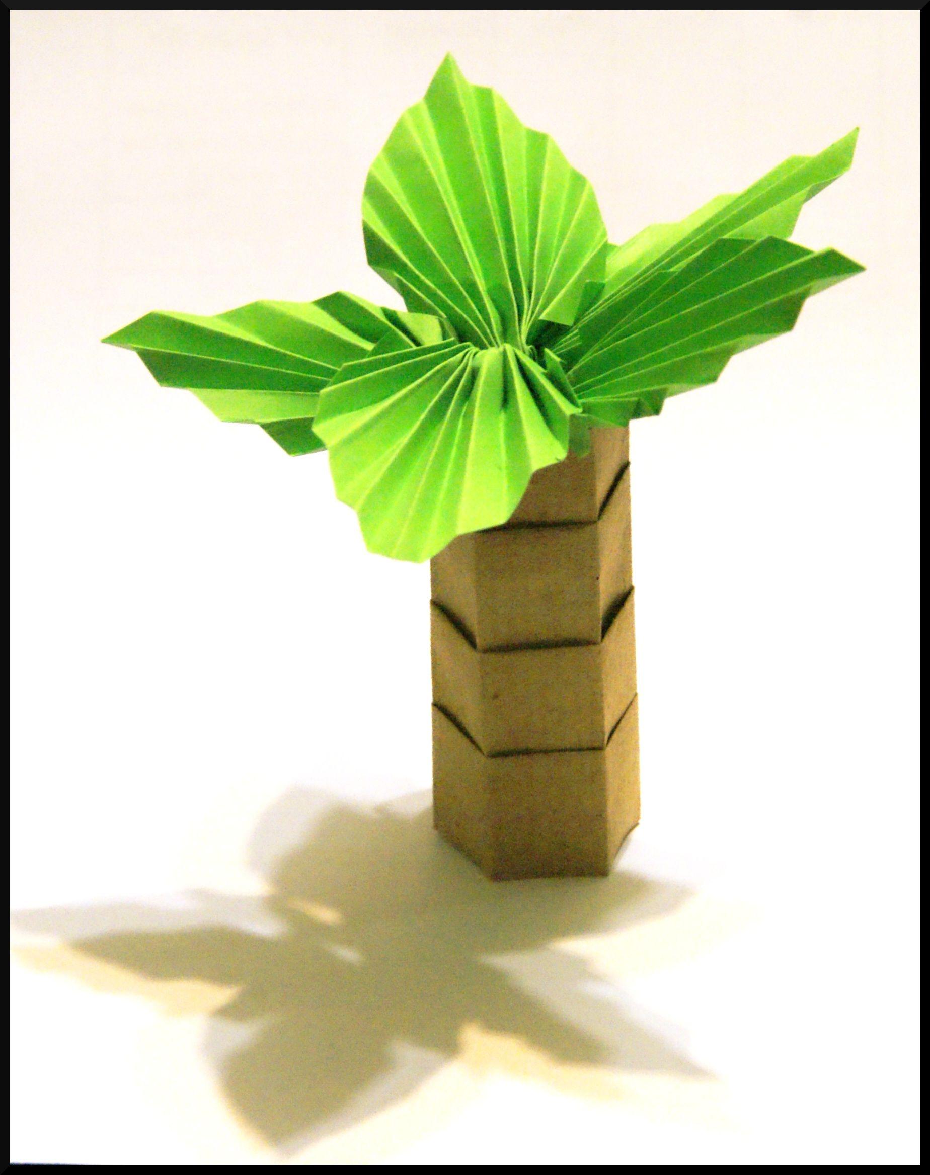 Hawai Palmboom Knutselen
