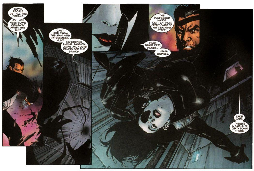Domino X Men V2 New X Men Annual 2001 Graphic Novel Comics Superhero