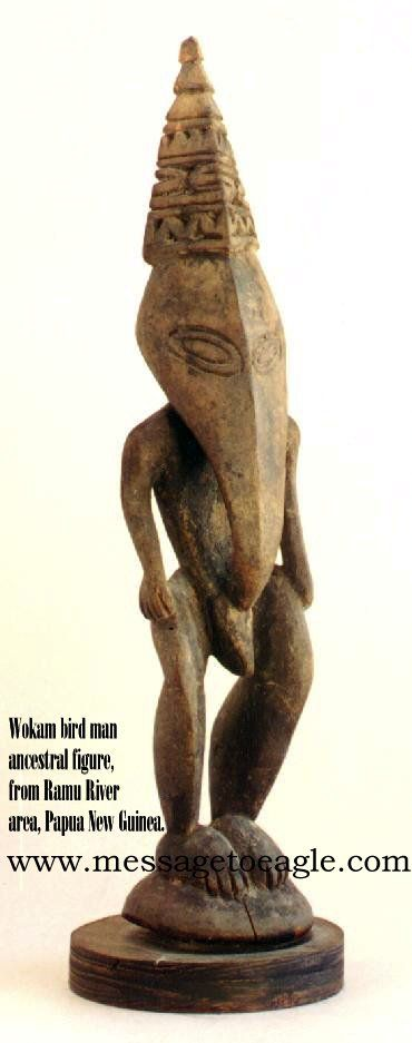 Ancient Aliens In New Guinea - Extraordinary Figures Of Unknown Beings - MessageToEagle.com