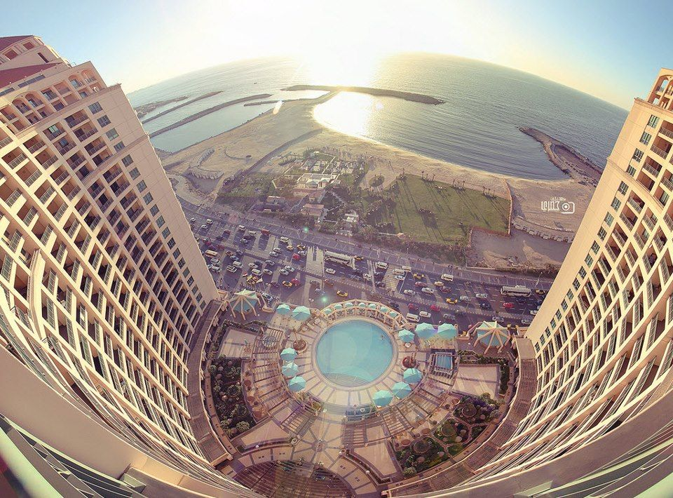 View From The Highest Point Of San Stefano Hotel Alexandria