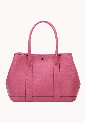 New Popular 37CM Tote Bag Calfskin Leather Rose