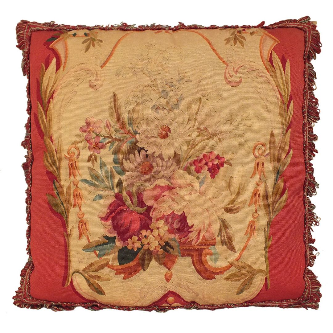16th Century French Aubusson Pillow | Antique