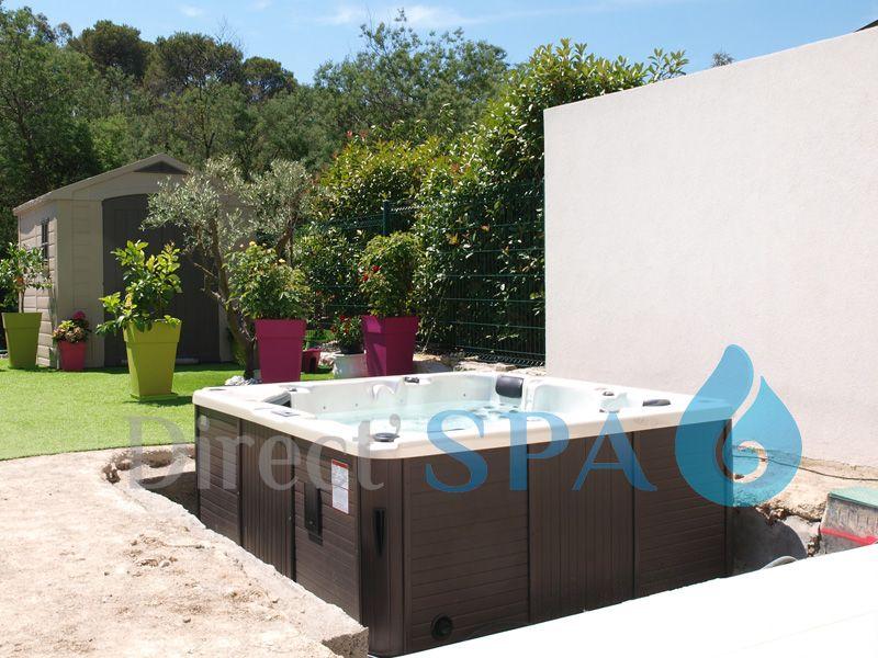 Installation D Un Spa Semi Enterre Spa Enterre
