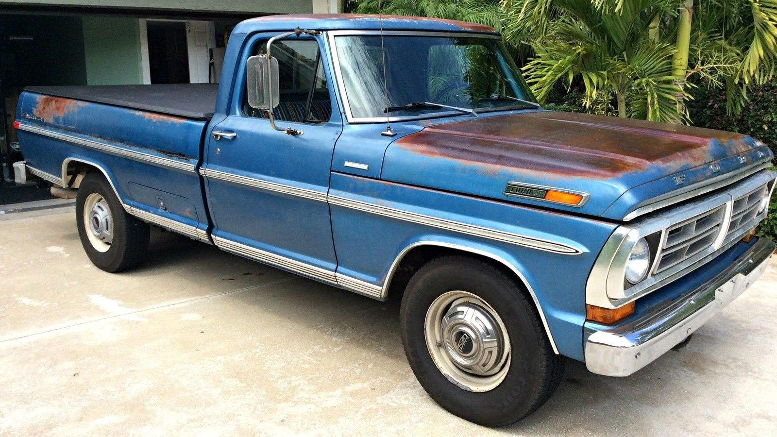 Tow ready classic 1972 ford f 250 camper special http