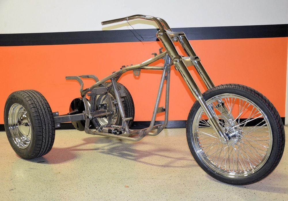 Custom Trike Softail Bobber Chopper Frame Rolling Chassis Roller ...