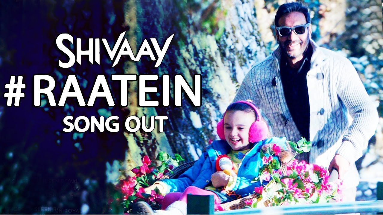 """Get Ready For New Song 🎤🎼""""Raatein Releasing Tomorrow"""" From @ShivaayTheFilm Watch☞"""
