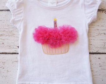 Pettiskirt Tutu Girls FIrst birthday Outfit por PoshPeanutKids