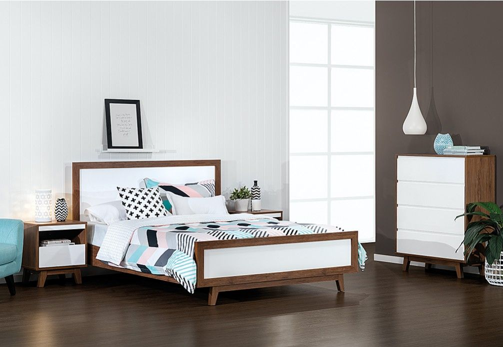 Andi Piece Queen Bedroom Suite Super Amart Beds Pinterest - 1 bedroom furniture packages