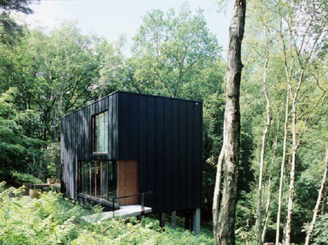 Stekke + Fraas Forest House Belgium photos Tim Van de Velde - realiser un plan de maison