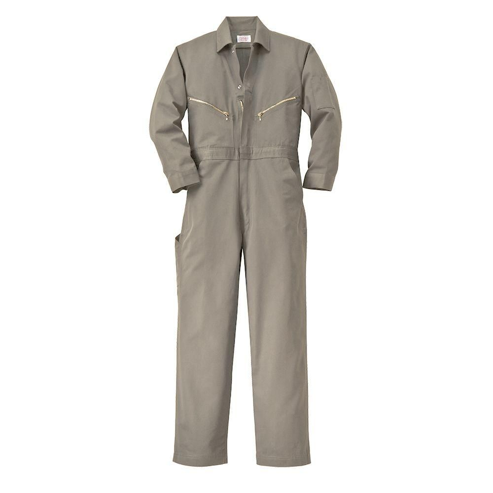 twill non insulated 48 in regular long sleeve coverall in on walls workwear insulated coveralls id=71522